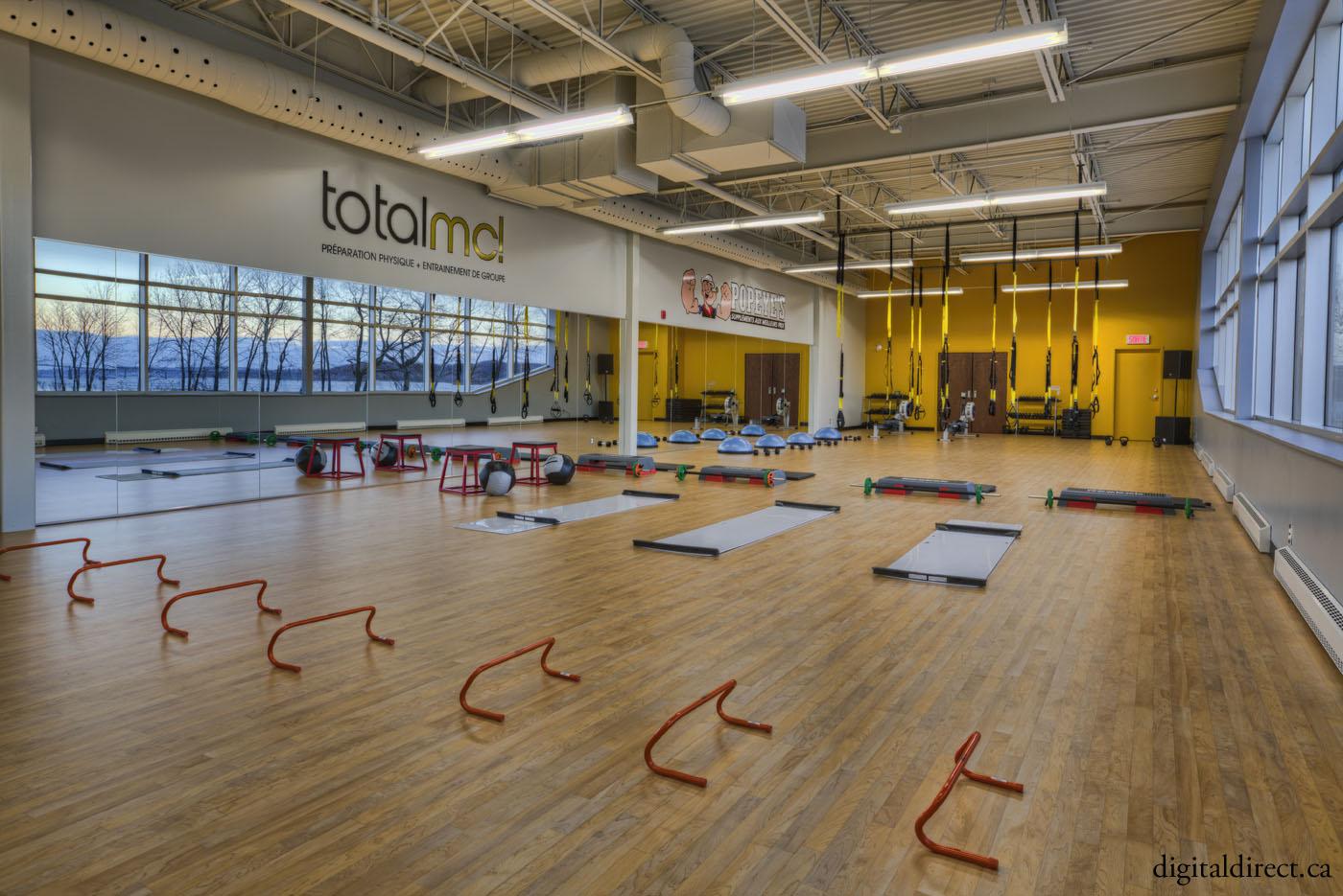 salle d'entraînement Totla MC