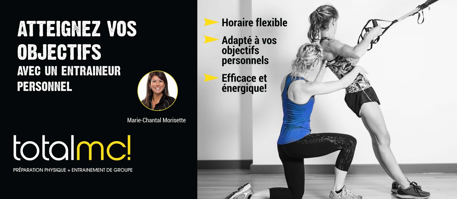 Entraineur personnel Marie-Chantal Morisette